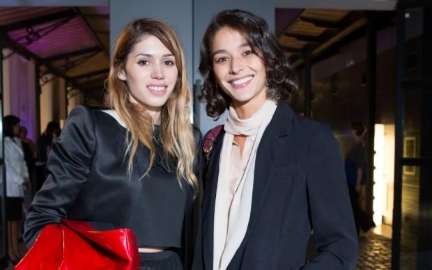 Francesca Mezzano con l'attrice Nicole Grimaudo