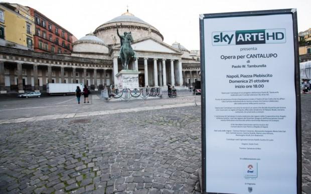 Piazza del Plebiscito griffata Sky Arte HD