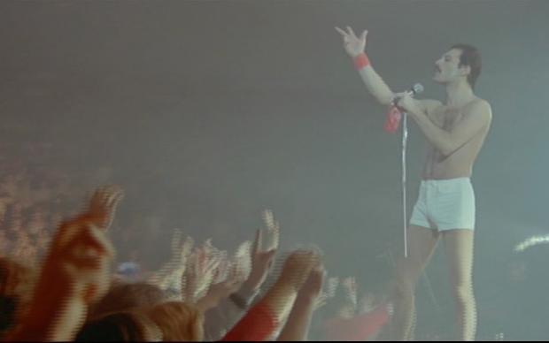 Freddie Mercury e il suo pubblico