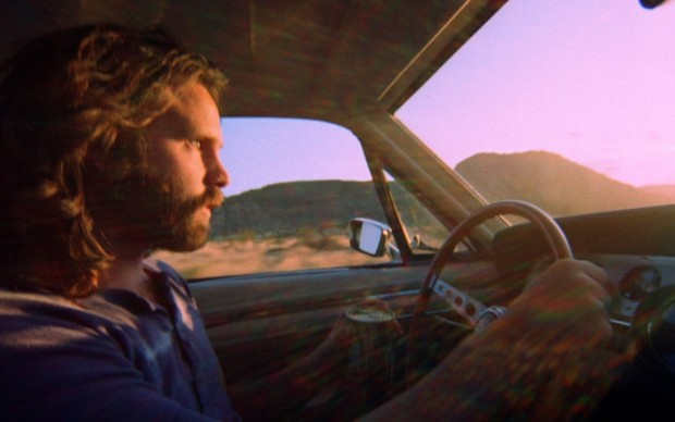 Jim Morrison on the road