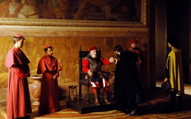 La corte papale
