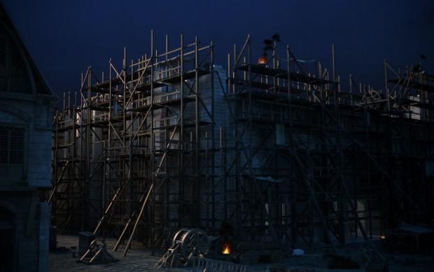 La ricostruzione del cantiere di Notre Dame