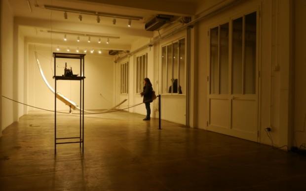 Roberto Paci Dalò, Time Line - installation view