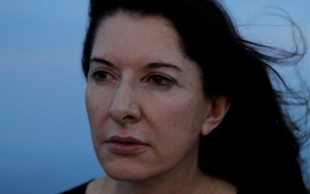 Un ritratto di Marina Abramovic