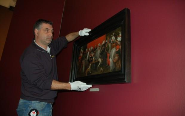 Brueghel in mostra a Roma - il posizionamento delle opere