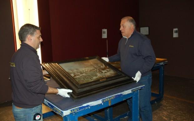 Brueghel in mostra a Roma - l'allestimento 3