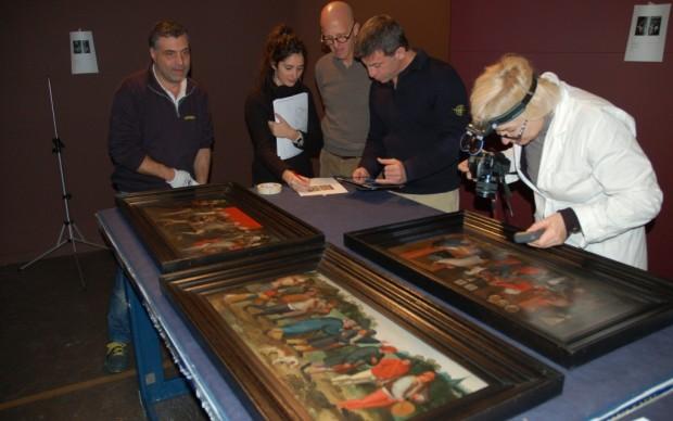 Brueghel in mostra a Roma - l'allestimento