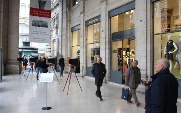Curiosità in Galleria Alberto Sordi