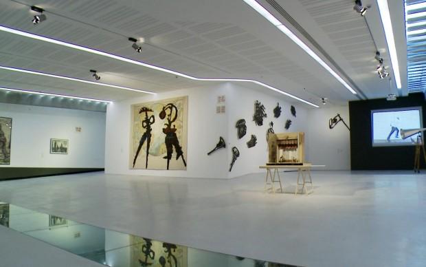 Kentridge al Maxi, installation view