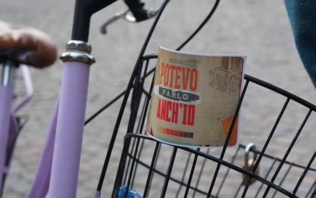 Potevo farlo anch'io... in bici