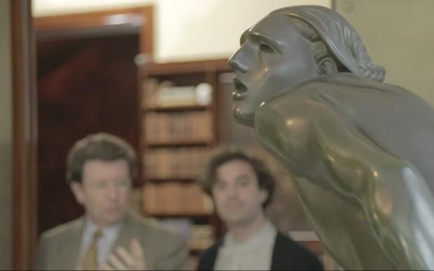 Una scultura di Wildt a Villa Necchi Campiglio