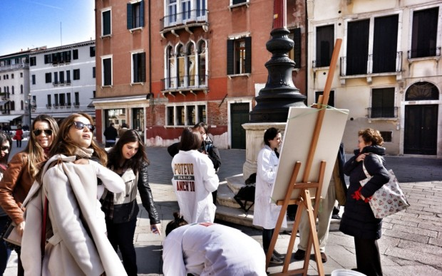 Venezia, domenica a Campo Santo Stefano - 2