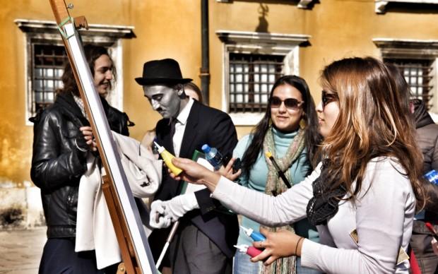 Venezia, domenica a Campo Santo Stefano - 3