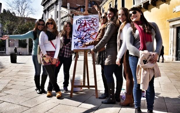 Venezia, domenica a Campo Santo Stefano - 4