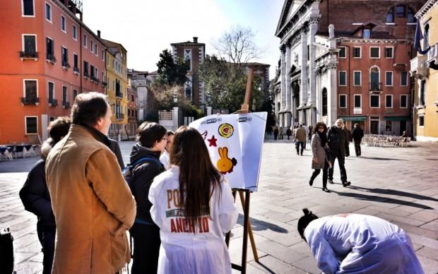 Venezia, domenica a Campo Santo Stefano