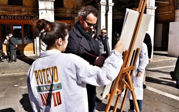 Venezia, domenica al mercato di Rialto