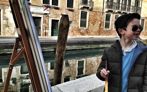 Venezia, domenica pomeriggio a San Barnaba