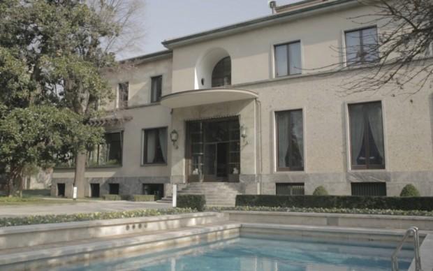 Villa Necchi Campiglio, ingresso
