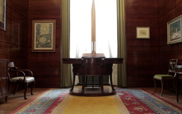 Villa Necchi Campiglio, studio