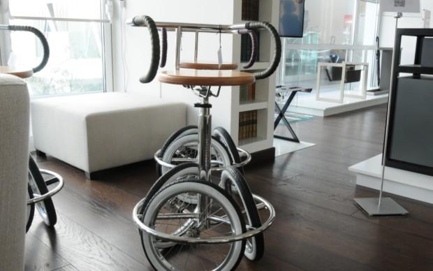Daniele Devoti - sgabello bicicletta