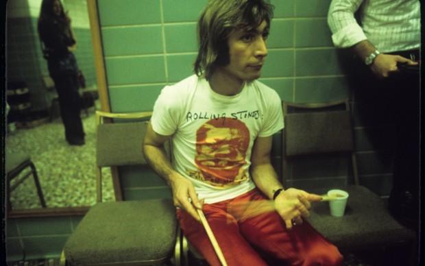 Nei camerini del tour degli Stones nel '72