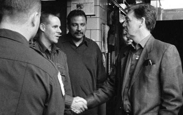 Paul McCartney incontra i pompieri eroi dell'11 settembre