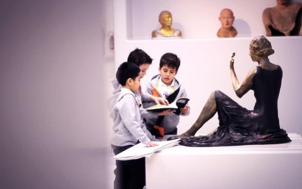 Sculture al Museo del Novecento