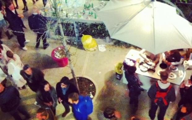 Stefano Leotta - party in Zona Ventura