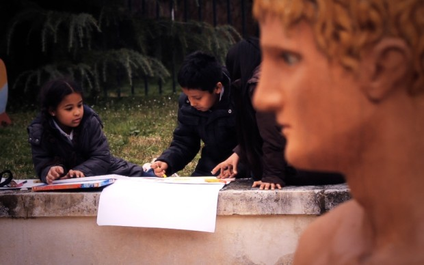 Copiando De Chirico a Milano