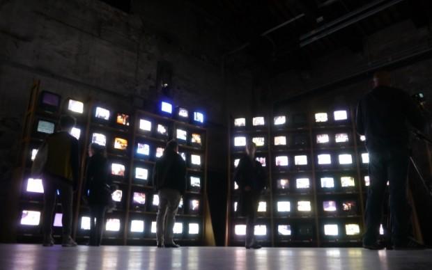 Il Palazzo Enciclopedico - gli schermi di Dieter Roth