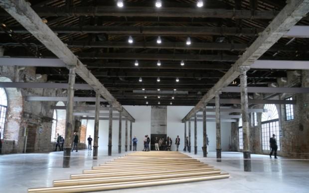 Il Palazzo Enciclopedico - l'installazione di Walter De Maria