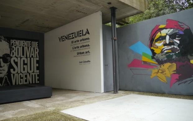 La urban art occupa il Padiglione Venezuela