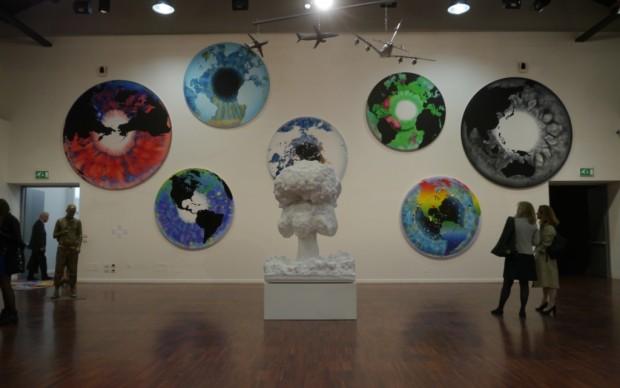 Marc Quinn, installatio view - 2
