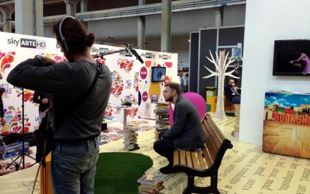 Paolo Giordano intervistato da Sky Arte