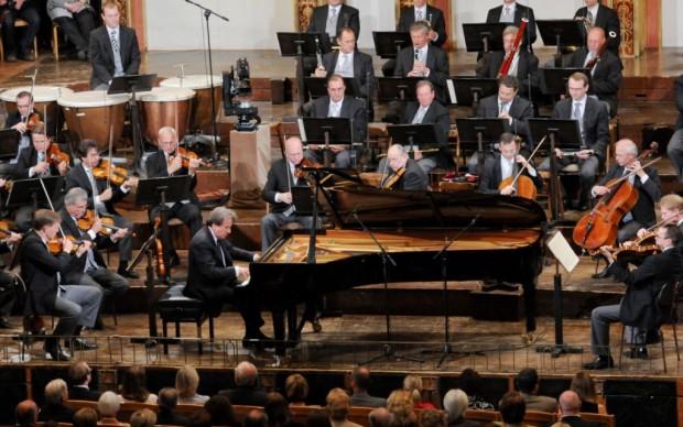 Un momento del concerto (c) Ali Schafler