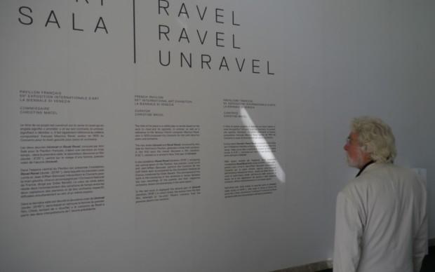 Padiglione Francia - Anri Sala omaggia Ravel