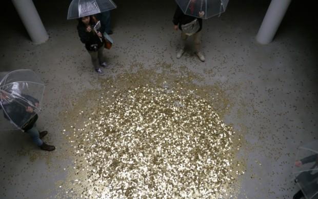 Padiglione Russia - una pioggia di monete
