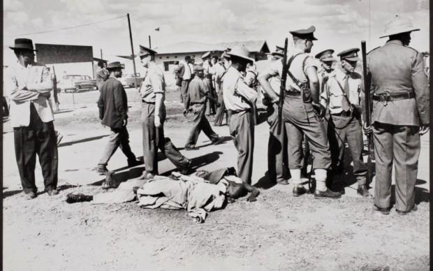 Peter Magubane, Sparatoria a Sharpeville