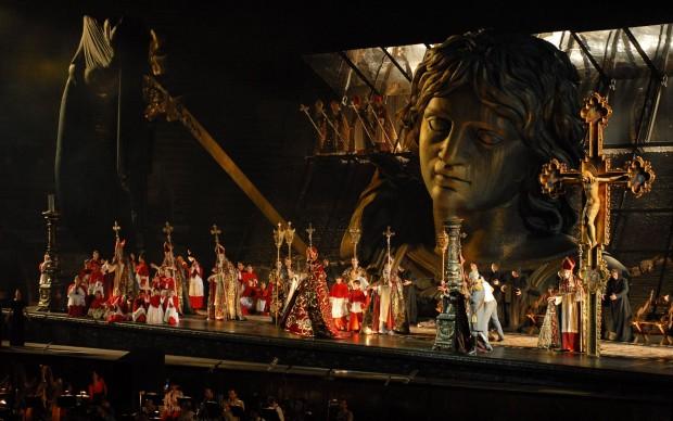 Tosca all'Arena di Verona