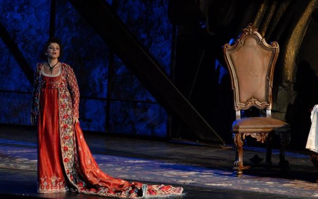 Una conturbante Tosca