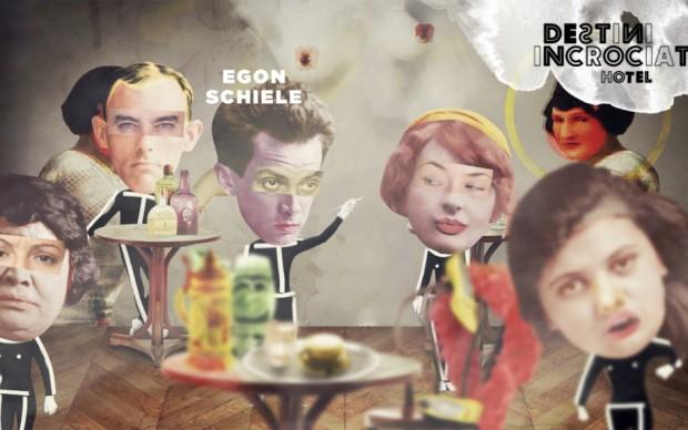 Egon Schiele non sopporta l'accademia, meglio i cafè dove ritrarre la vita vera