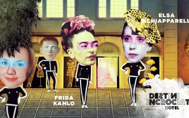 Elsa Schiapparelli dedica un suo abito a Frida Kahlo