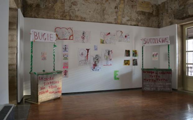 Invasioni, Museo Riso - Katia Scarlata, Bugie e Suppliche, 2013