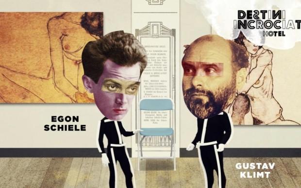 Klimt organizza la prima mostra di Schiele