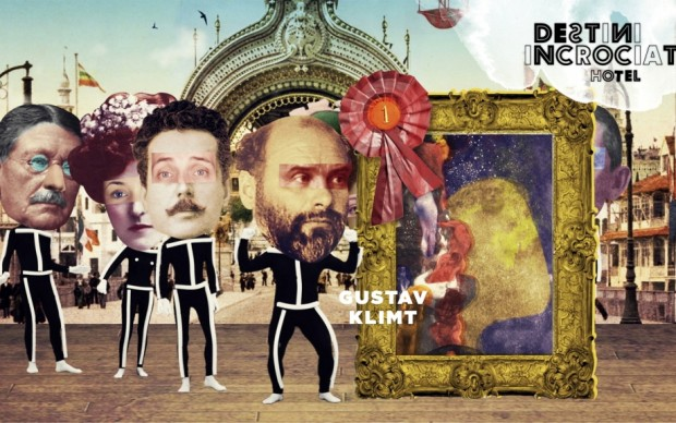 Klimt riceve la medaglia d'oro all'esposizione di Parigi per il pannello di Filosofia