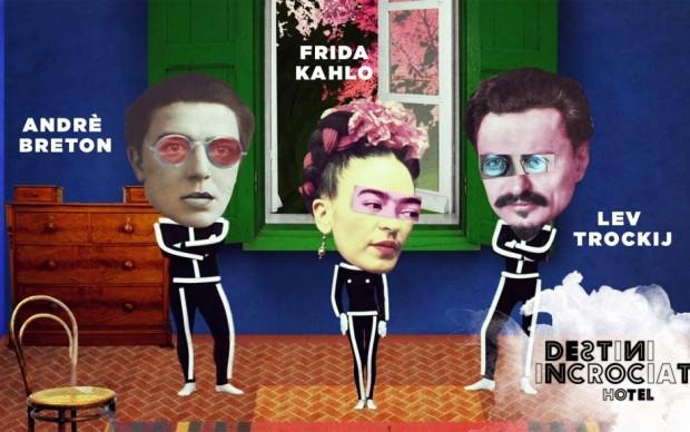 Tra gli amanti di Frida Andrè Breton e Lev Trockij
