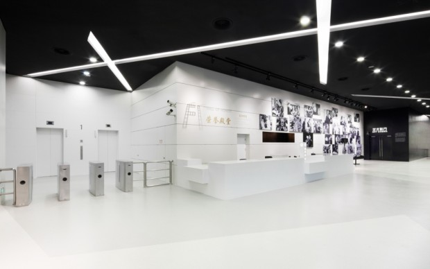 La hall dello Shanghai Cinema Museum - Photos Tilman Thürmer  COORDINATION ASIA Ltd