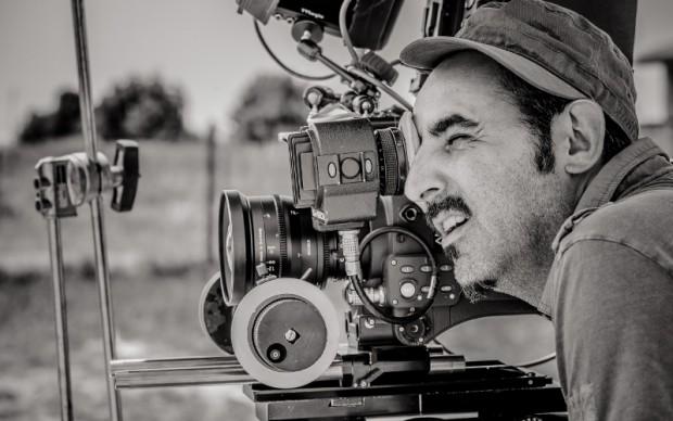 Paolo Zucca sul set
