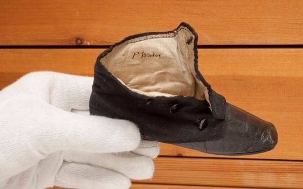 Uno stivaletto di Edoardo VII © Museum of London.