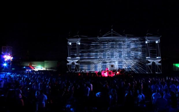 Un'immagine dell'edizione 2012 del Kernel Festival